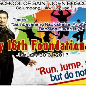 SSJB 16th FOUNDATION DAY-Jan. 30-31, 2017